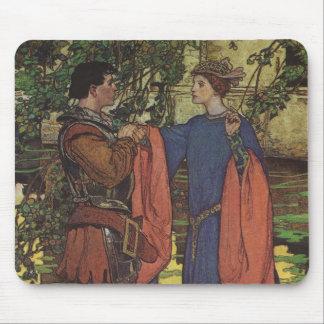 Príncipe Knight Shining Armor princesa del héroe Alfombrilla De Ratón
