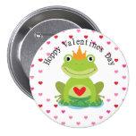 Príncipe lindo Valentine de la rana Pin