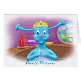 Príncipe Marvin en la tienda de Brita Tarjeta De Felicitación
