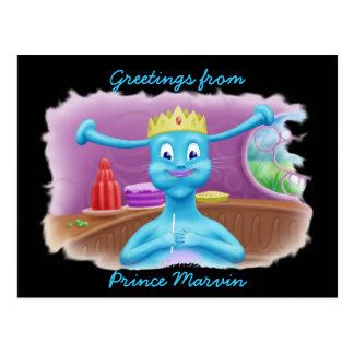 Príncipe Marvin en la tienda de Brita Tarjeta Postal