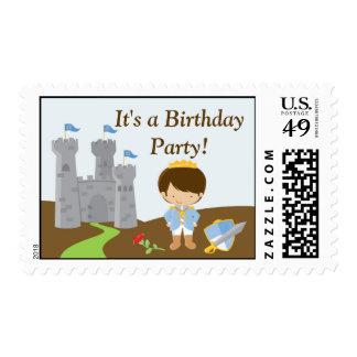 Príncipe Medium Postage del cumpleaños Sello Postal