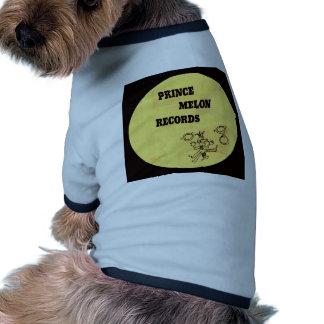 Príncipe Melon Records Ropa De Mascota
