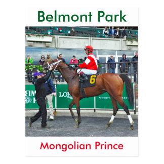 Príncipe mongol tarjeta postal