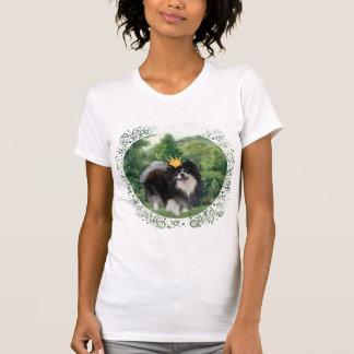 Príncipe negro de Pomeranian Camiseta