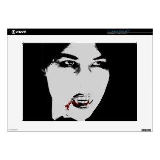 """Príncipe oscuro Gothic Vampire 15"""" piel del ordena Portátil Skins"""