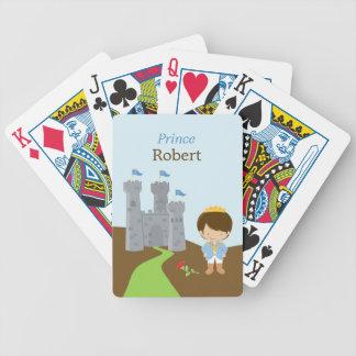 Príncipe para los naipes de los niños baraja de cartas