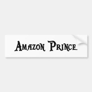 Príncipe pegatina para el parachoques del Amazonas Pegatina De Parachoque