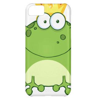 Príncipe personaje de dibujos animados de la rana  funda para iPhone 5C