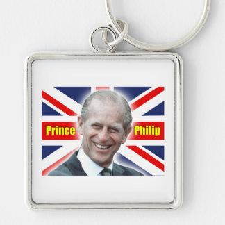 ¡Príncipe Philip de HRH - estupendo! Llaveros