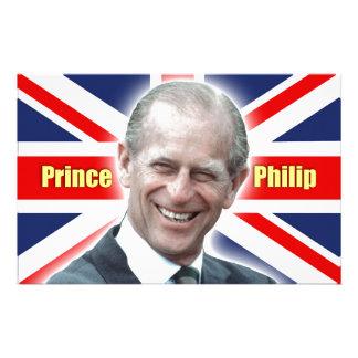 ¡Príncipe Philip de HRH - estupendo Papelería De Diseño