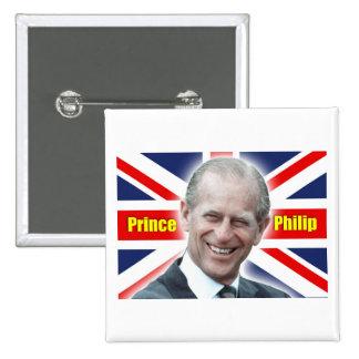 ¡Príncipe Philip de HRH - estupendo! Pin