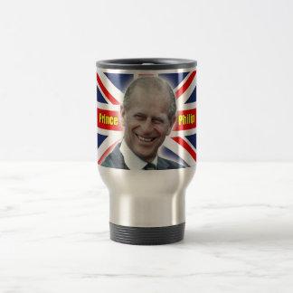 ¡Príncipe Philip de HRH - estupendo! Taza De Viaje De Acero Inoxidable