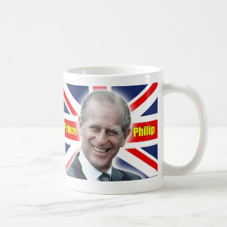 ¡Príncipe Philip de HRH - estupendo! Taza Básica Blanca