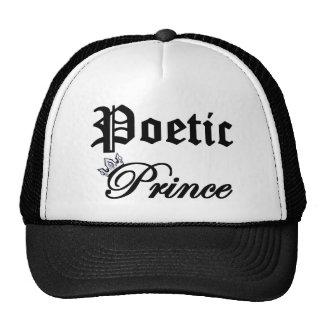 Príncipe poético gorros