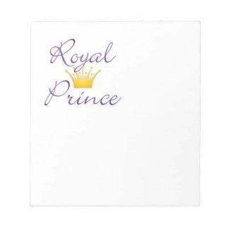 Príncipe real blocs de papel