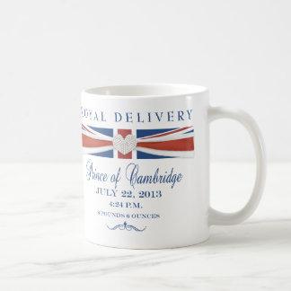 Príncipe real de la taza del recuerdo de Cambridge