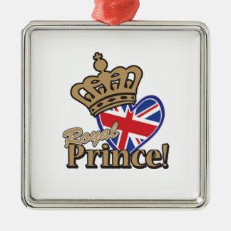Príncipe real adorno de navidad