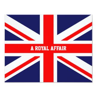 "Príncipe real Guillermo Kate Middleton del Invitación 4.25"" X 5.5"""
