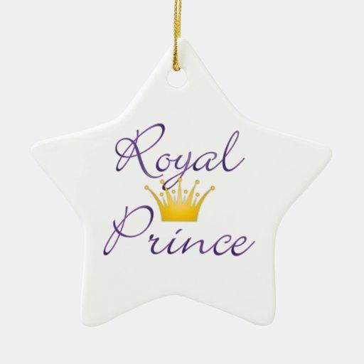 Príncipe real ornamentos para reyes magos
