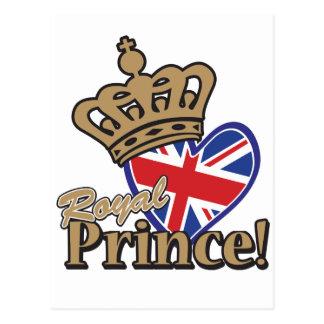 Príncipe real tarjetas postales