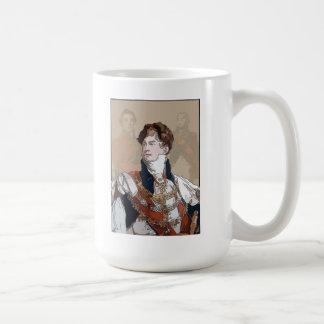 Príncipe Regent Portrait Mug Taza De Café