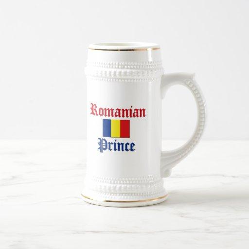 Príncipe rumano jarra de cerveza