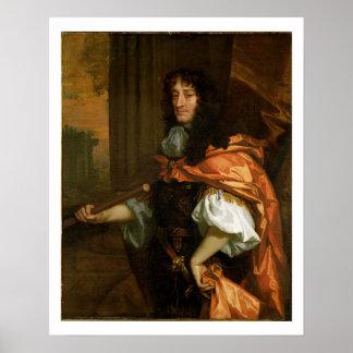 Príncipe Rupert (1619-82), c.1666-71 (aceite en lo Póster