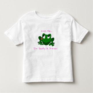 Príncipe Todder T-Shirt de la rana Polera