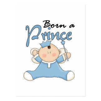 Príncipe Tshirts y regalos del bebé Postal