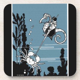Príncipe y el Seahorse Posavasos