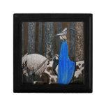 Príncipe y paseo de Tomten a través de las maderas Caja De Regalo