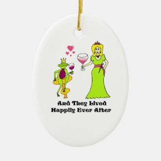 Príncipe y princesa del vino… feliz siempre despué ornamentos de reyes