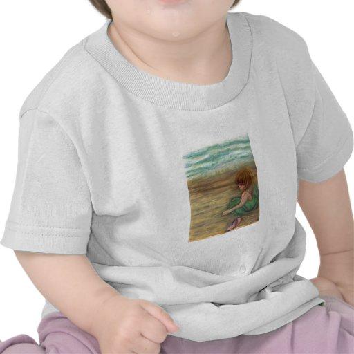 Príncipes dibujo en colores pastel de Captiva Camiseta