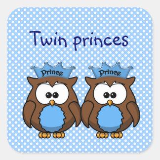 príncipes gemelos del búho etiqueta