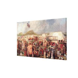 Príncipes nativos lona estirada galerías