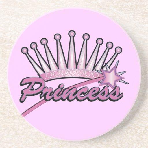Príncipes rosados Crown Posavasos Cerveza