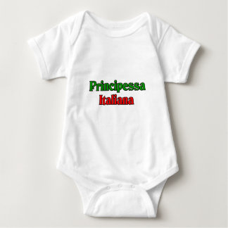 Principessa Italiana (Italian Princess) Baby Bodysuit