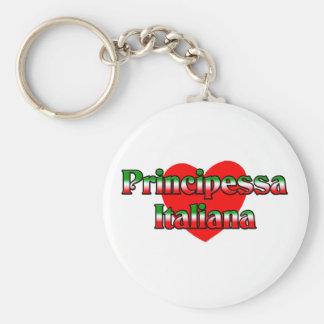 Principessa Italiana (Italian Princess) Keychain