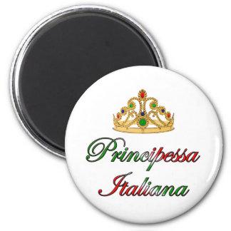 Principessa Italiana (Italian Princess) Fridge Magnets