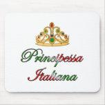Principessa Italiana (Italian Princess) Mouse Mats