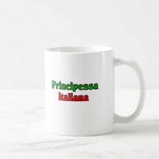 Principessa Italiana (Italian Princess) Classic White Coffee Mug