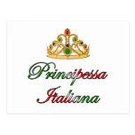 Principessa Italiana (Italian Princess) Postcard