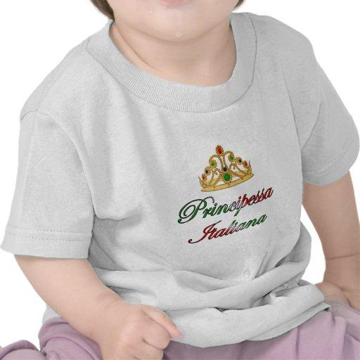 Principessa Italiana (Italian Princess) Shirts