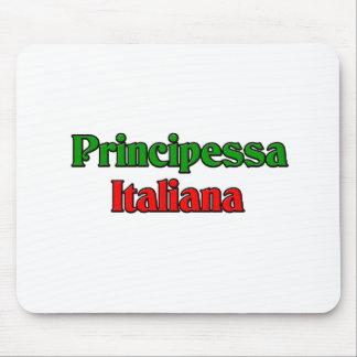 Principessa Italiana (princesa italiana) Tapetes De Raton