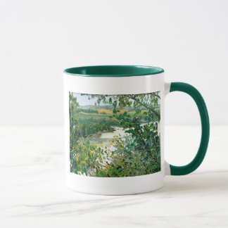 Principia Overlook Landscape Oil Painting Mug