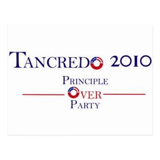 Principio 2010 de Tancredo sobre el fiesta Tarjeta Postal