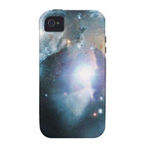 Principio del universo iPhone 4 carcasa