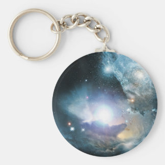 Principio del universo llavero redondo tipo pin