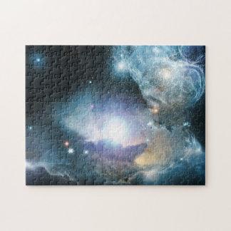 Principio del universo rompecabezas con fotos