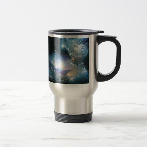 Principio del universo taza de viaje